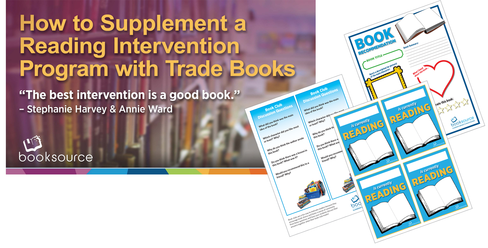 How to Supplement Your Reading Intervention Program with Trade Books