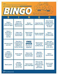 At-Home Reading Bingo (English)