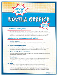 Create Your Own Graphic Novel Activity Pack (Spanish)