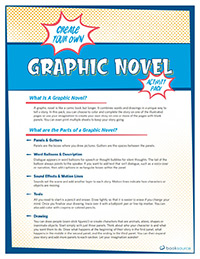 Create Your Own Graphic Novel Activity Pack (English)