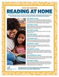 Summer Reading At-Home Printables (English)