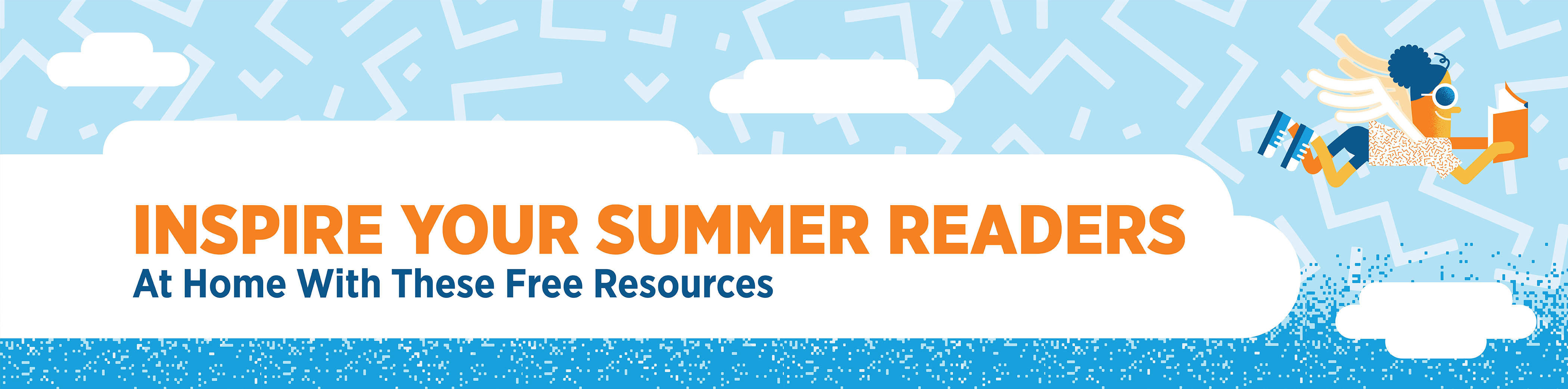 Summer Reading Header Graphic