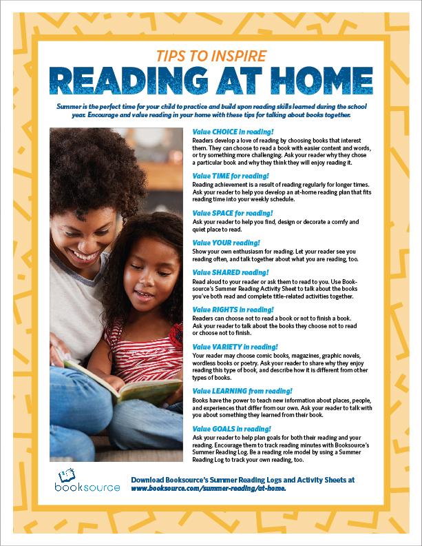 Summer Reading Tips English