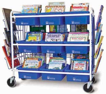 booksource literature cart. Black Bedroom Furniture Sets. Home Design Ideas
